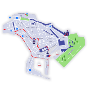 map hoorn city